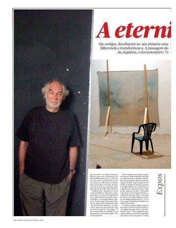 A eternidade e uma tela (Ípsilon, 3/10/2008) - PDF - Público