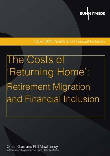 returning home - Social Welfare Portal