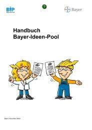 Handbuch Bayer-Ideen-Pool - Chempark