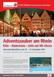 Adventszauber am Rhein