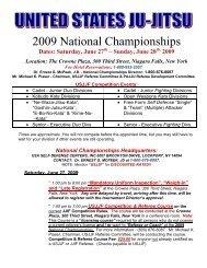 2009 National Championships - United States Ju-Jitsu Federation