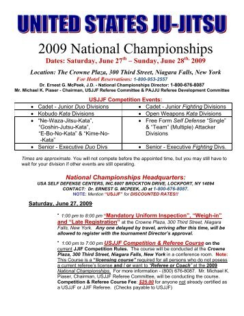 2009 National Championships - United States Ju-Jitsu Federation