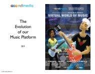 The Evolution of our Music Platform - NDi Media