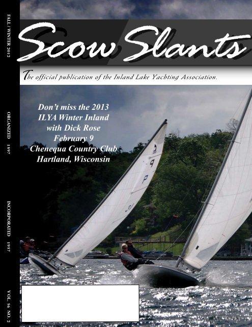 Fall / Winter 2012 - Inland Lake Yachting Association