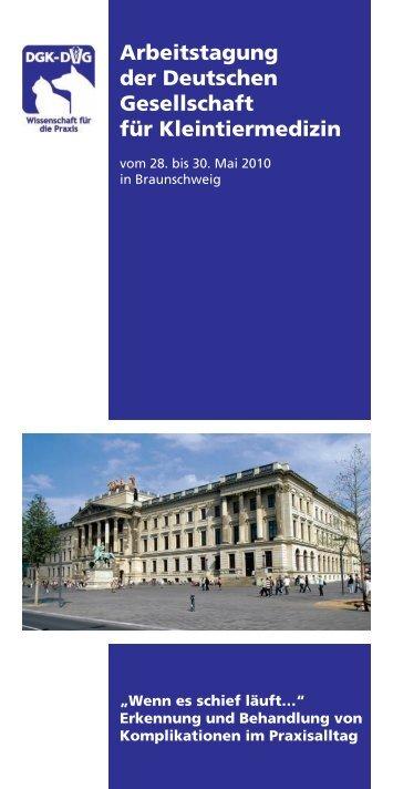 Arbeitstagung der Deutschen Gesellschaft für ... - DGK-DVG