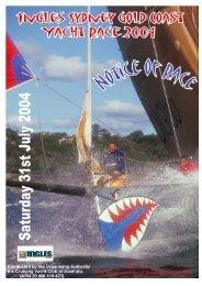 Notice of Race - Cruising Yacht Club of Australia