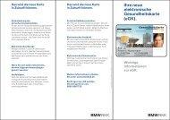Flyer eGK.pdf - BMW BKK