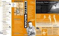 Die Jungen Tenöre Alexander Huber (Huberbuam) - Kulturfabrik