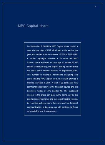 MPC Capital share