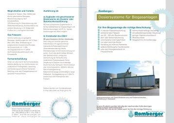 Für Ihre Biogasanlage die richtige Beschickung