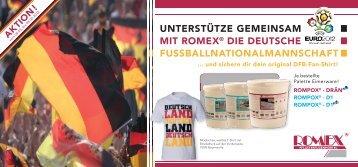 unterstütze gemeinsam mit romex® die deutsche - ROMEX-PFM