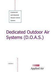 While Not A New Concept1 Dedicated Outdoor Air Systems Are Trane