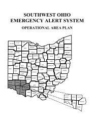 SOUTHWEST OHIO EMERGENCY ALERT SYSTEM