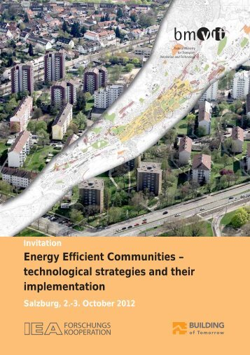 Energy Efficient Communities – technological strategies and ... - Klima