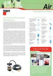 Air System Preventative Maintenance - Cumminsfiltration.com