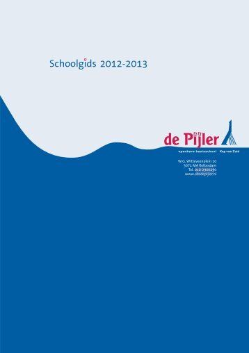 4 - School en ouders - OBS De Pijler