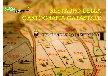 IL RESTAURO DELL MAPPA CATASTALE DEL COMUNE DI ...