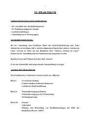 TC-PRAKTIKUM - TCI @ Uni-Hannover.de
