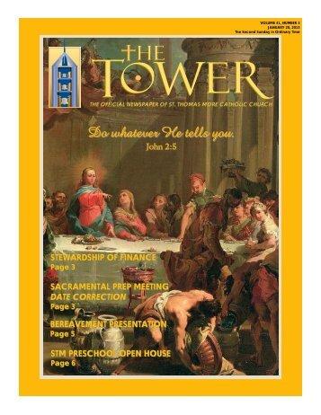 Do whatever He tells you. - St. Thomas More Catholic Church