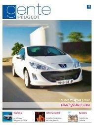 Revista Gente de Peugeot - Peugeot Chile