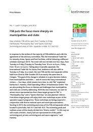 Km Master Pressemitteilung national 16-1 mit KM Logo und ... - FSB