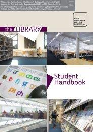 Library Student Handbook.pdf - Arts University Bournemouth