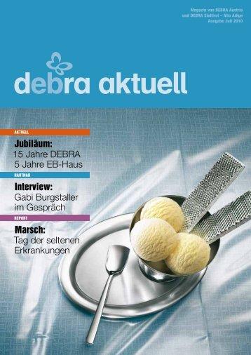 DEBRA EB-Aktuell - DEBRA Austria