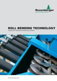 rolling bend plant automated - Rosenberger AG