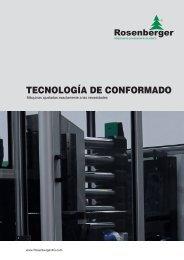 máquinas conformadoras accionadas por ... - Rosenberger AG