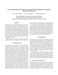 REAL-TIME EXTRACTION OF LOCAL PHASE FEATURES FROM ...