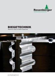 servomotorische biegemaschinen - Rosenberger AG