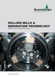 veRSatile Rolling foRmS - Rosenberger AG