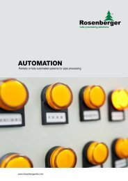 machine automation on request - Rosenberger AG