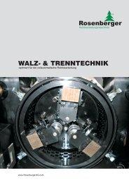 WALZ- & TRENNTECHNIK - Rosenberger AG