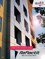 Reflectit Brochure - Continuous Insulation - Dryvit