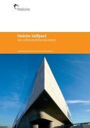 Holcim Selfpact – Der selbstverdichtende Beton