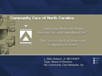 The Case for Medical Homes and Community Networks - Center for ...