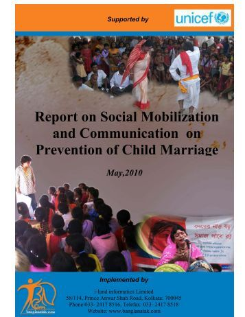 a critical view on child marriage The marriage crisis how marriage  women often received financial support from their husbands and women often provided household and child-rearing labor marriage .