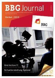 BBG Journal im PDF Format - Braunschweiger Baugenossenschaft eG