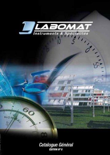 Téléchargez le catalogue - Labomat