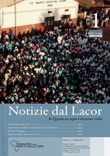 N. 1 Febbraio - Fondazione Corti