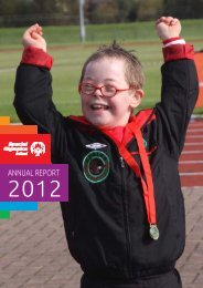2012 annual report - Special Olympics Ireland