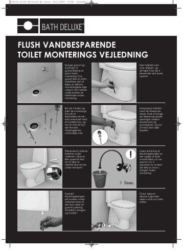 DK manual FLUSH WC - Bath Deluxe