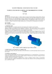 FATIGUE ANALYSIS OF CLAMPING JAW FOR HORIZONTAL ...