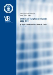 Children and Young People in Custody 2006-2008 - Prison Reform ...