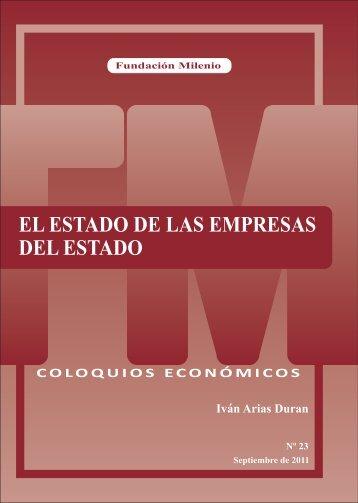 coloquios económicos nº 23 - Fundación Milenio