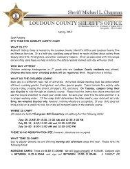Safe Bike Checklist - Loudoun County