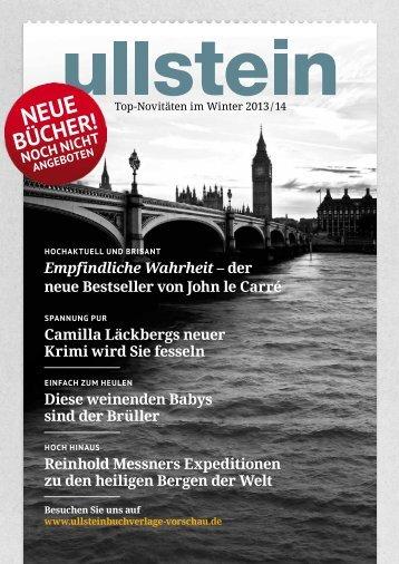 Empfindliche Wahrheit – der neue Bestseller von John le ... - Ullstein