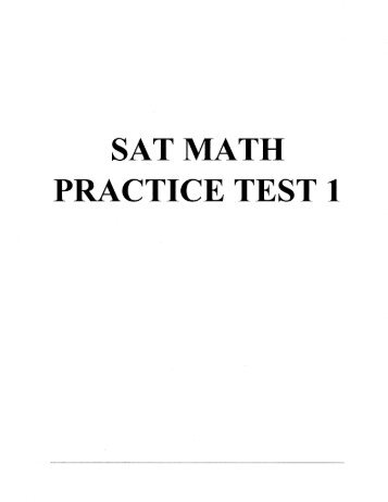 Free act math practice test printable
