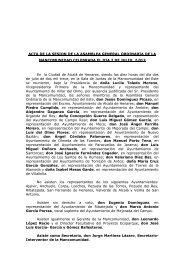 ACTA ASAMBLEA GENERAL ORDINARIA: 2 de julio 2013